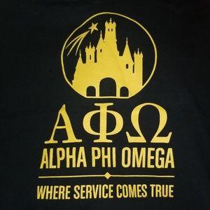 Tops - Alpha Phi Omega DISNEY tank!!! APhiO size unisex M